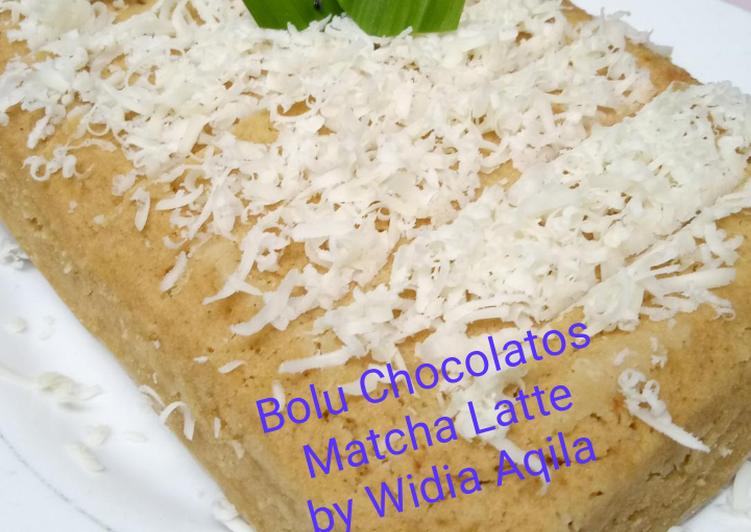 Bagaimana Memasak Bolu Chocolatos Matcha Latte Cepat