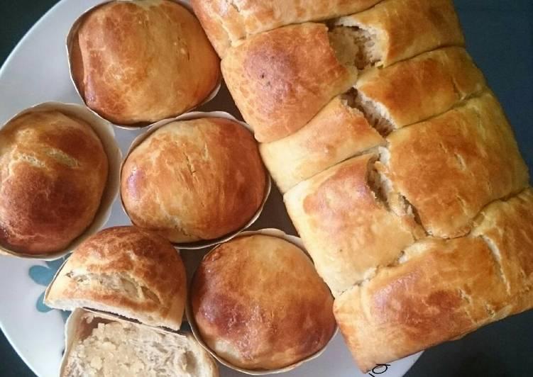 Resep Roti keset isi keju Paling Joss