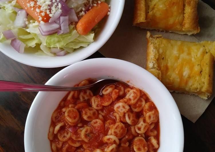Healthy Homemade Spaghetti-Os