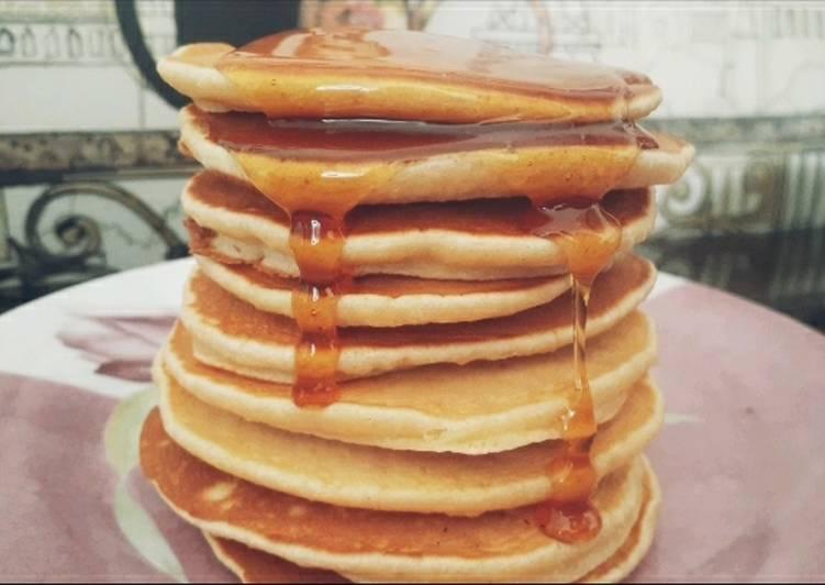 Le moyen le plus simple de Cuire Appétissante Pancake au miel 🥞
