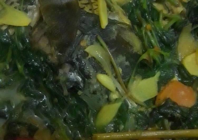 Sup Ikan Mas Mantoel