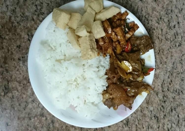 Nasi Gandul(nasi khas kab.Pati)