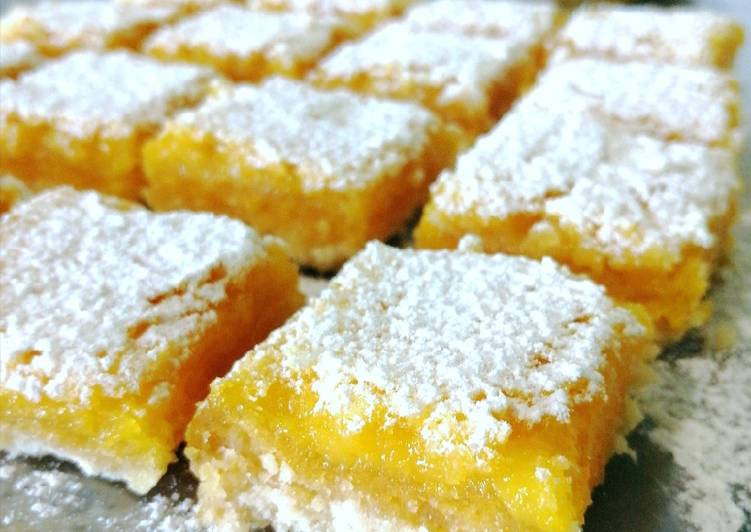 Ricetta Brownies al limone🍋