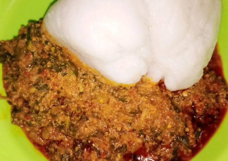 Step-by-Step Guide to Prepare Perfect Tuwon Shinkafa with Egusi Soup