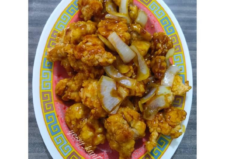 Ayam Goreng Tepung Saus Teriyaki