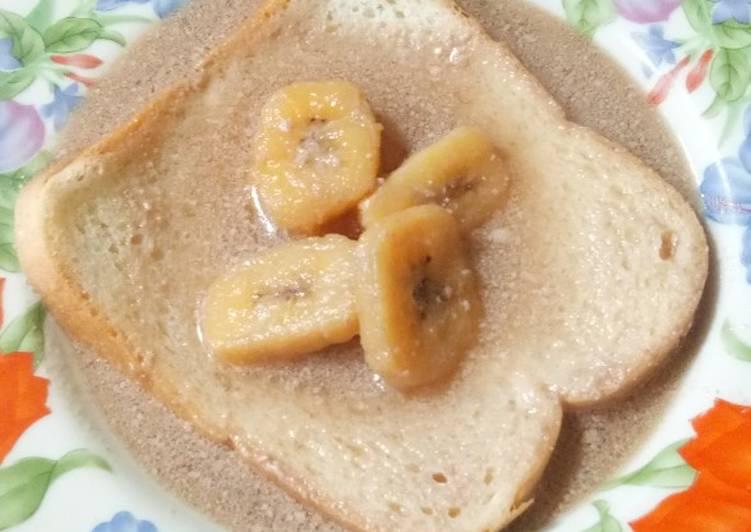 Resep Kolak pisang roti tawar Paling dicari