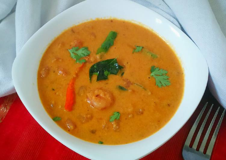 Restaurant style Prawn curry Finding Healthful Fast Food