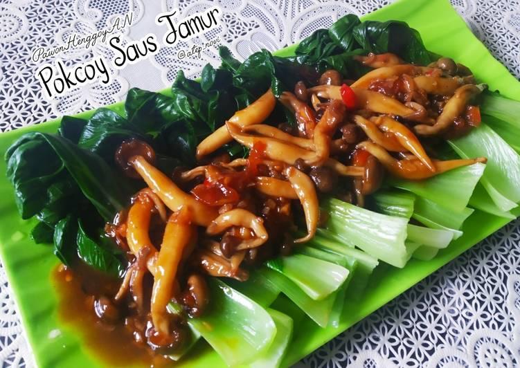 Pokcoy Saus Jamur