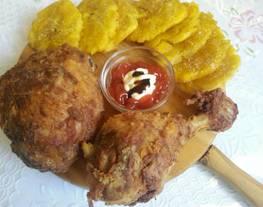 Pollo frito (estilo Picapollo)