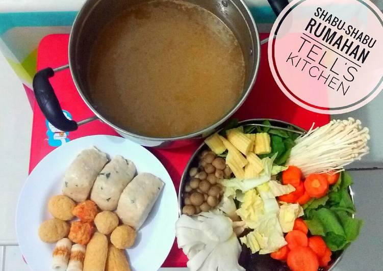Resep Kuah Shabu Shabu Praktis Oleh Alstella Tan Cookpad