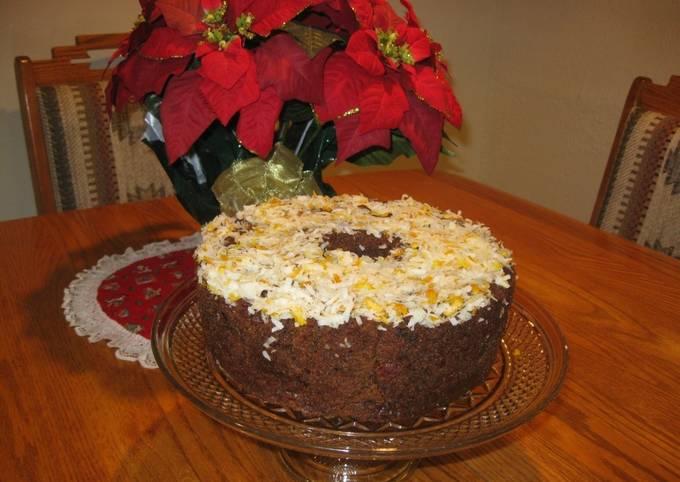 Steps to Prepare Homemade Danish Cake (Betty Wilson's)
