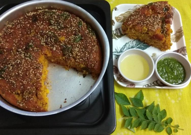 How to Prepare Recipe of Gujarati handvo