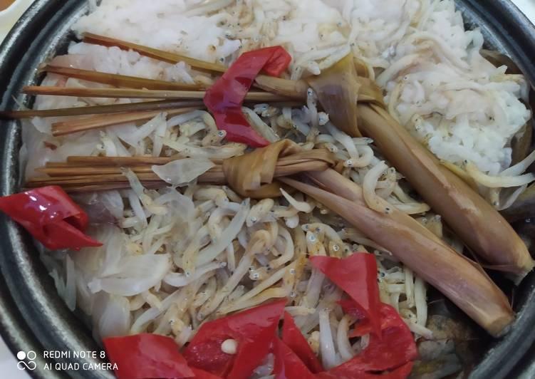 Nasi liwet ala rice cooker simple