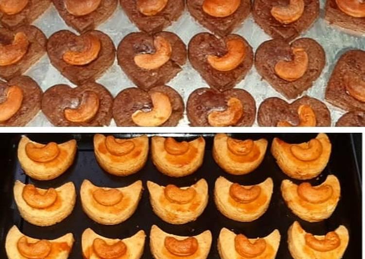 Chasew nut cookies (cookies kacang mete)