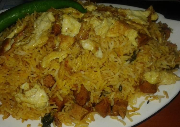 Steps to Make Favorite Chunks biryani#cookpad pakistan