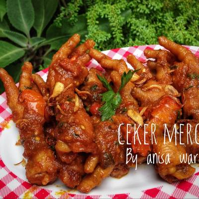 Resep Ceker Mercon Oleh Anisa Wardani Cookpad