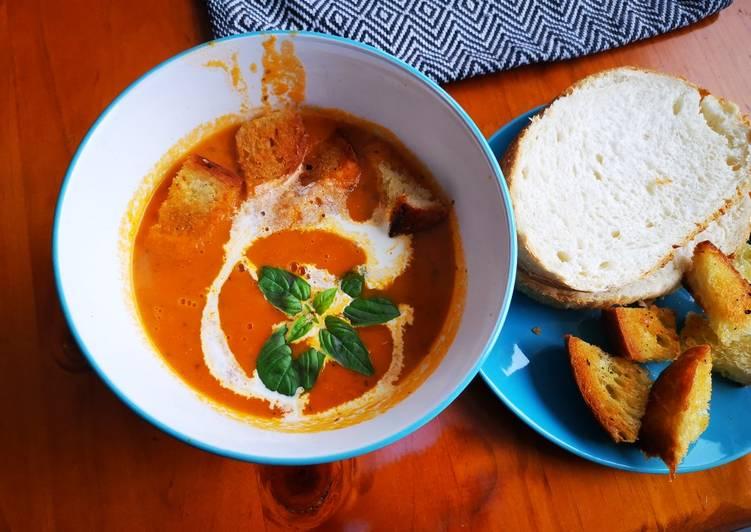 How to Prepare Quick Rustic Tomato soup
