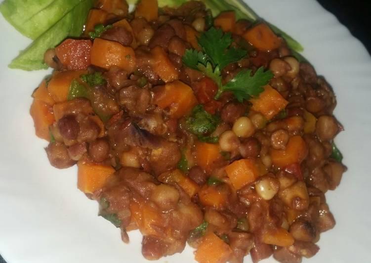 Steps to Prepare Super Quick Homemade Githeri aka Succotash