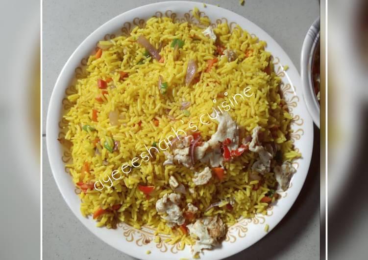 Recipe of Most Popular Scrambled egg fried rice