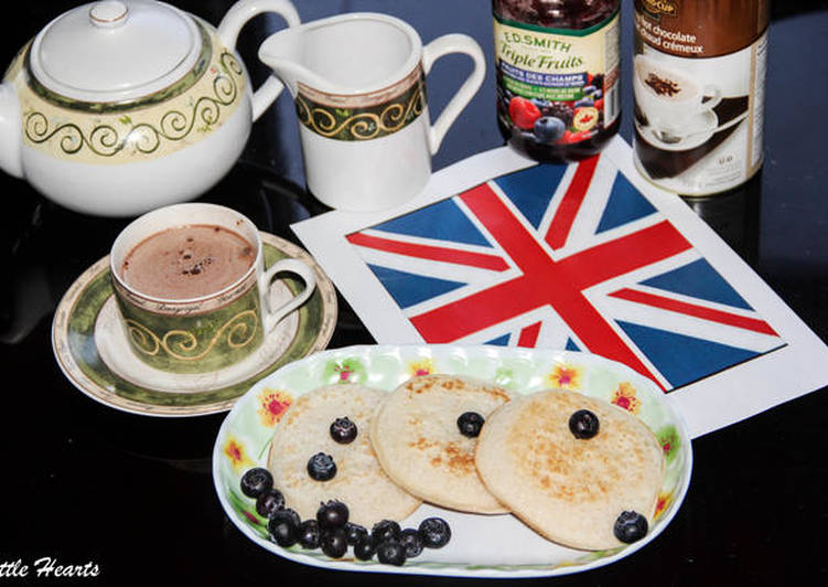 Step-by-Step Guide to Prepare Homemade English Style Crumpets