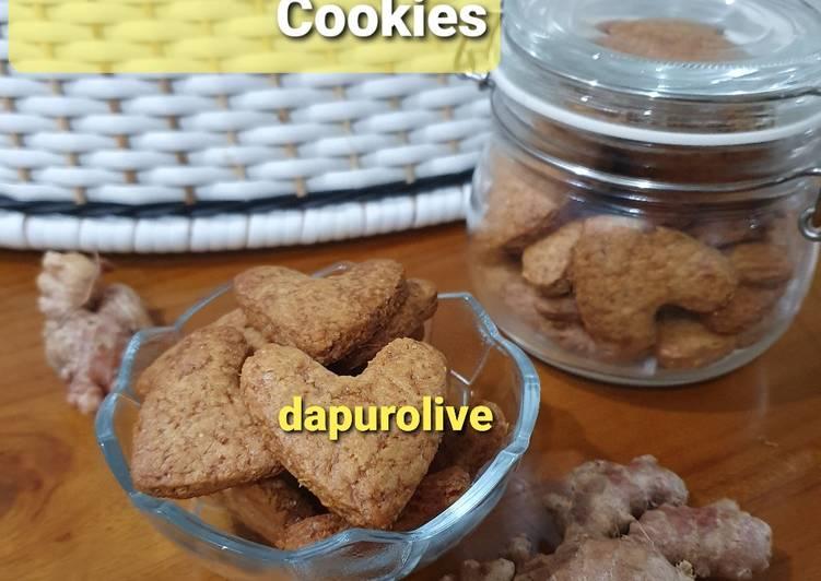 Kue Jahe / Ginger Cookies Tanpa Telur Tanpa Mikser