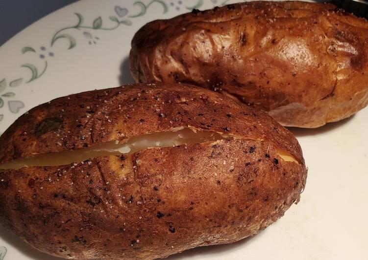 Brined Baked Potato