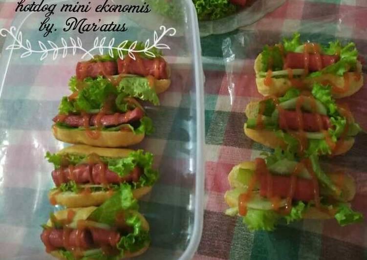 Hotdog mini ekonomis