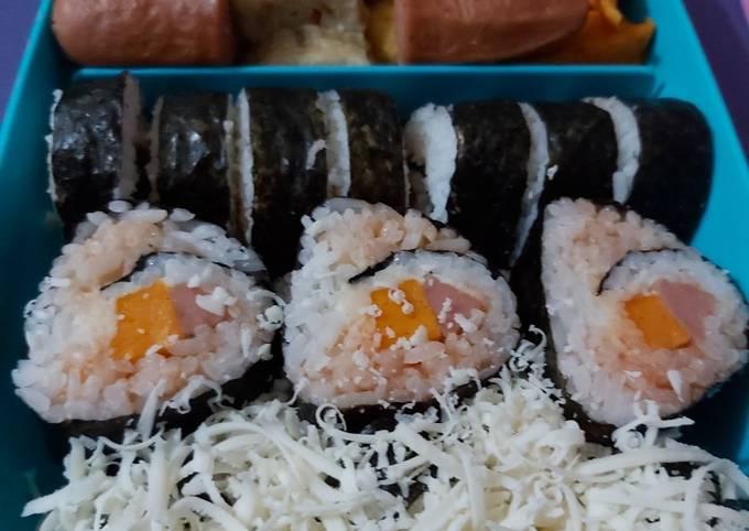 Bekal Simple Sushi Homemade