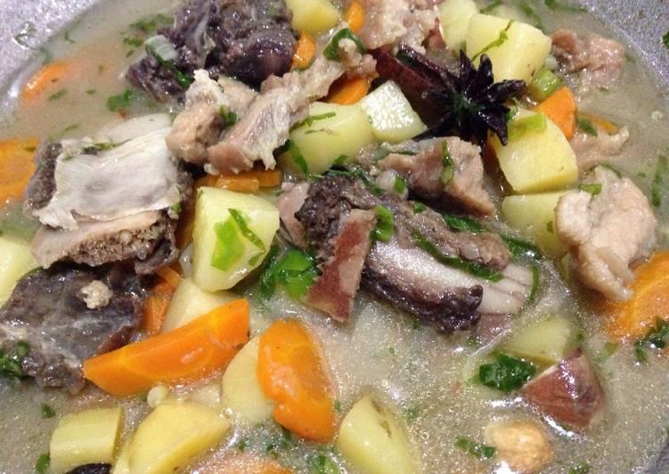 Resep Sup Tulang Kerbau Buffalo Soup Oleh Suchi Isti Anah Ucing Cookpad