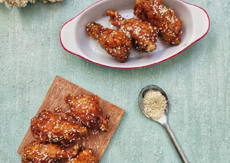Resep Garlick & Honey Chicken Wings, Lezat
