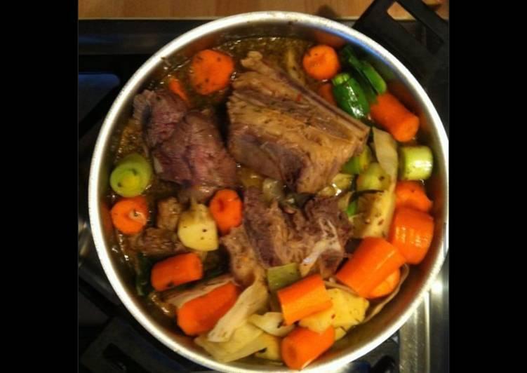 Comment Cuisiner Pot au feu ma recette personnelle
