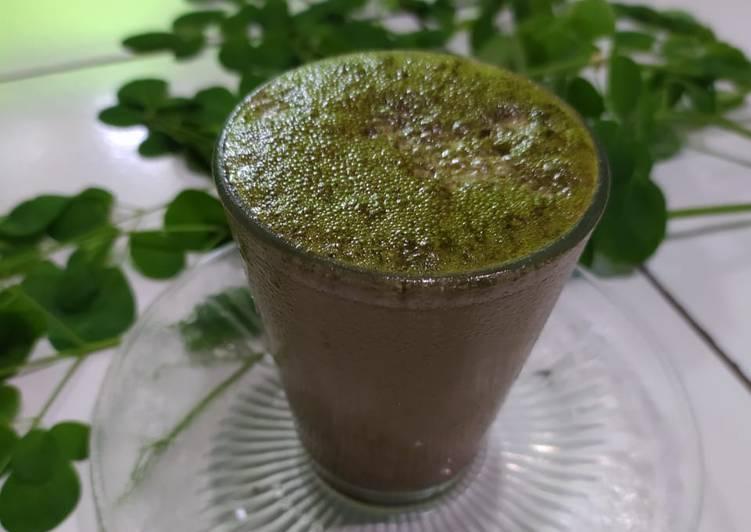 """Langkah Mudah untuk Membuat Dalgona coffe """"kelor"""", Enak Banget"""