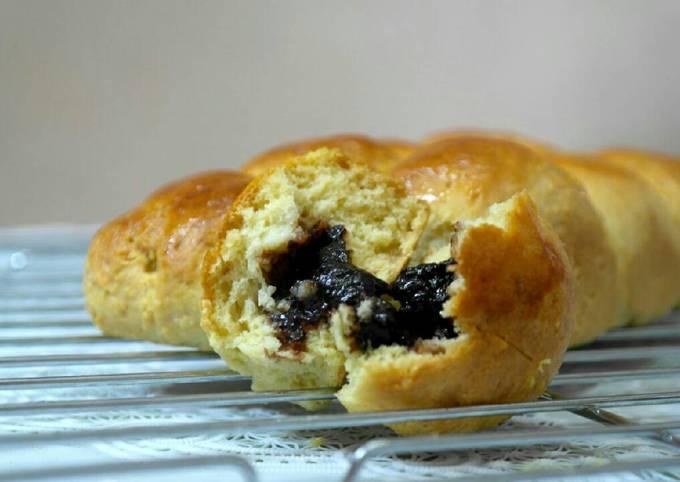 Roti Isi coklat simple 8sendok