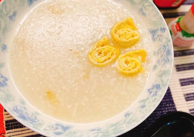 Bubur nasi halia