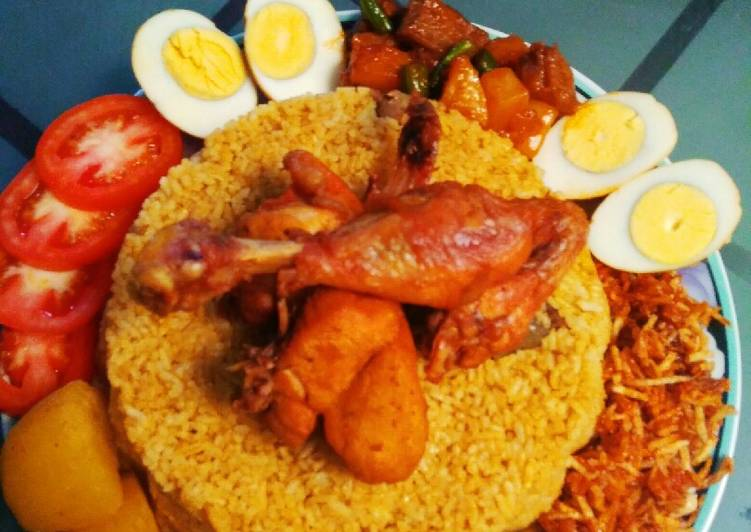Nasi Kebuli Bumbu Instan Rice cooker - cookandrecipe.com