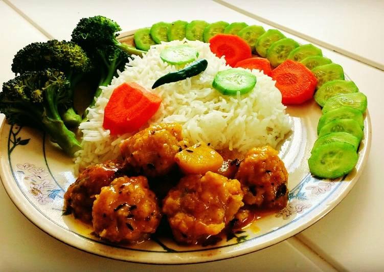 Recipe of Favorite Prawn Kofta Malai curry