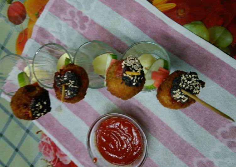 Recipe of Homemade Mix Veg Millets Poppers