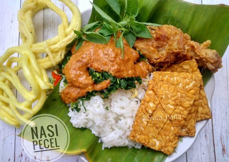 Nasi Pecel (#pr_dibumbukacangin)