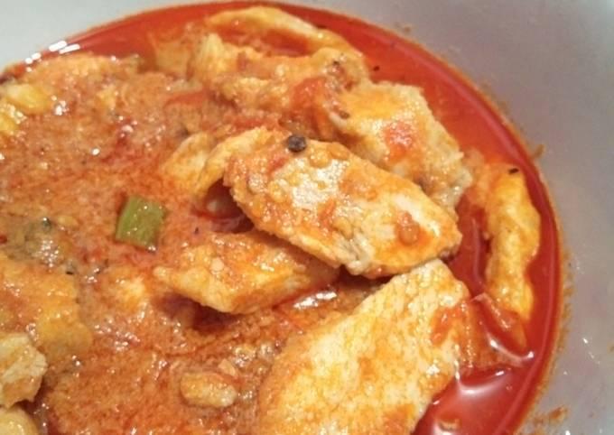 Ayam Fillet Saus Balado