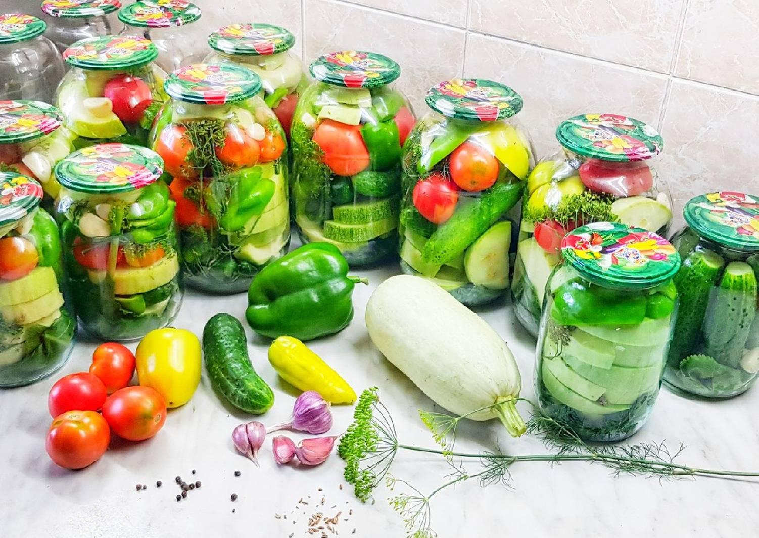 соление ассорти из овощей с фото кто идет
