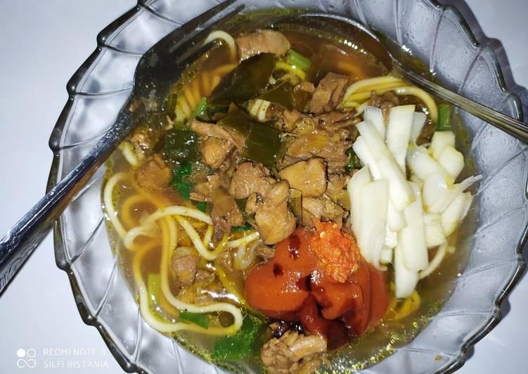 Resep Mie ayam mantul Yang Mudah Bikin Nagih