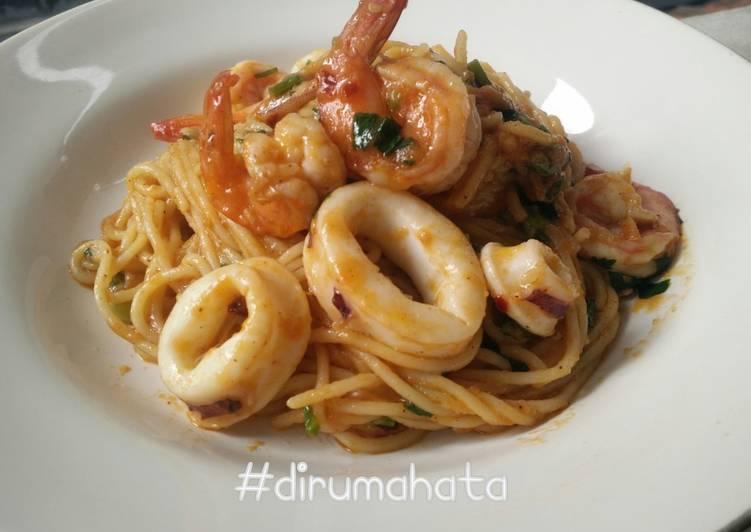 Pasta Seafood Marinara Modif
