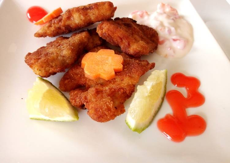 15 Minute Easiest Way to Prepare Royal Marinated fish with tartare sauce
