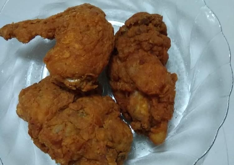 Resep Ayam goreng ala kfc simpel yang Bisa Manjain Lidah