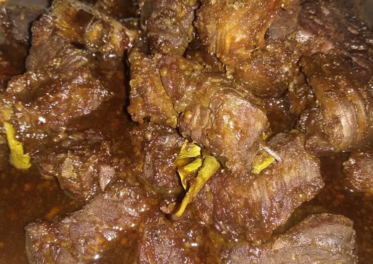 Semur daging Betawi cingwatiii