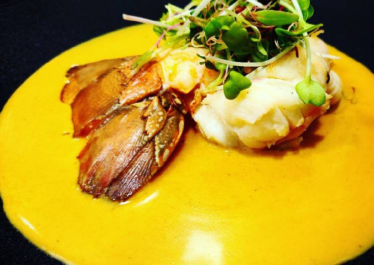 Lobster with Burmese curry