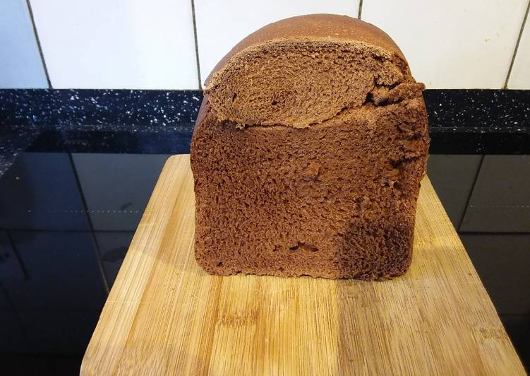 Easiest Way to Prepare Appetizing Chocolate Bread (Bread machine)