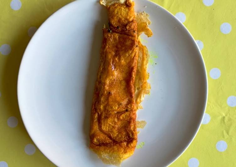 One Egg Turmeric Omelette