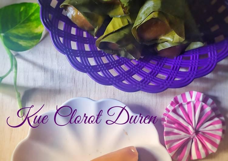 Kue Clorot Duren