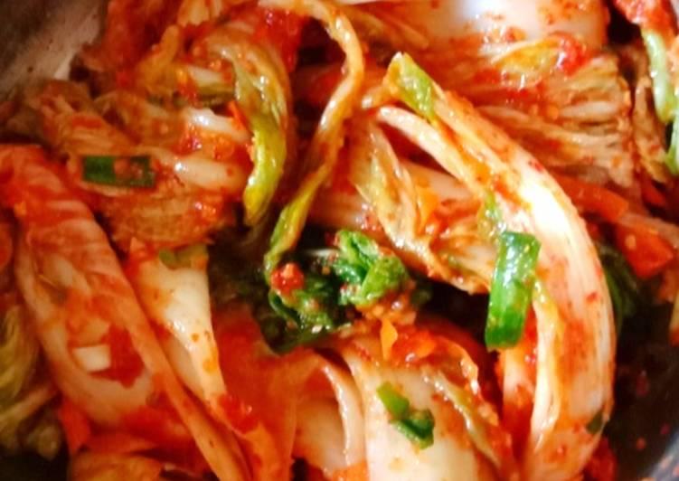 Fresh Kimchi Super Simple